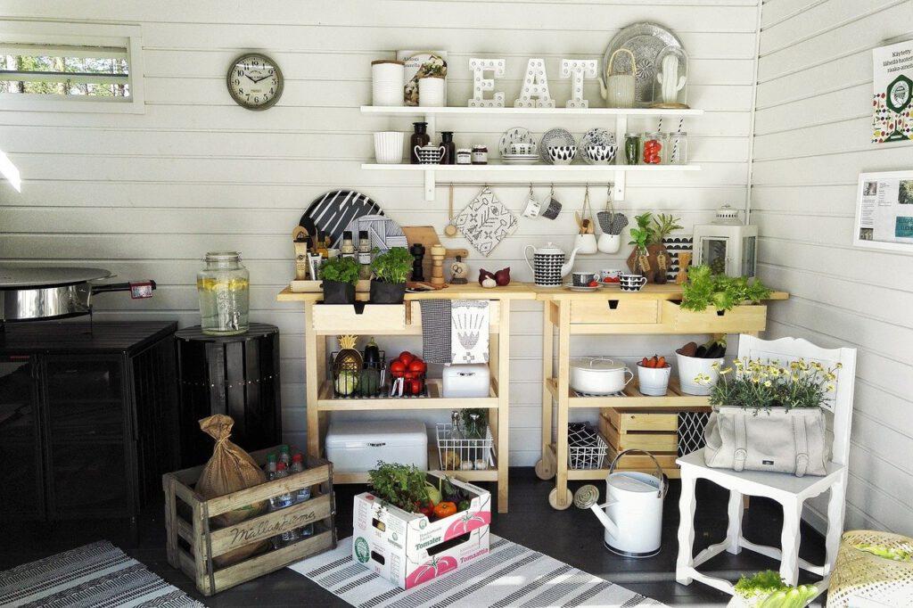 organized kitchen remodel